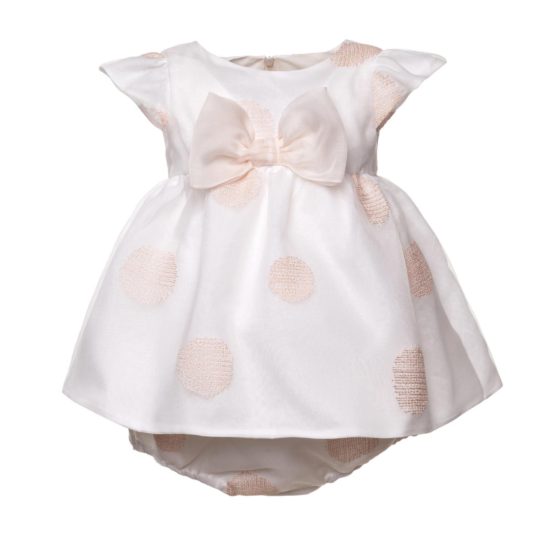 Vestiti Eleganti Neonata.La Stupenderia Abito Elegante Bianco Neonata Annameglio Com