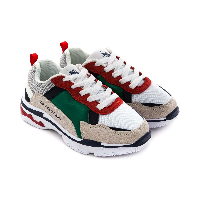 U.s. Polo Assn. - Logo Sneakers For Boy