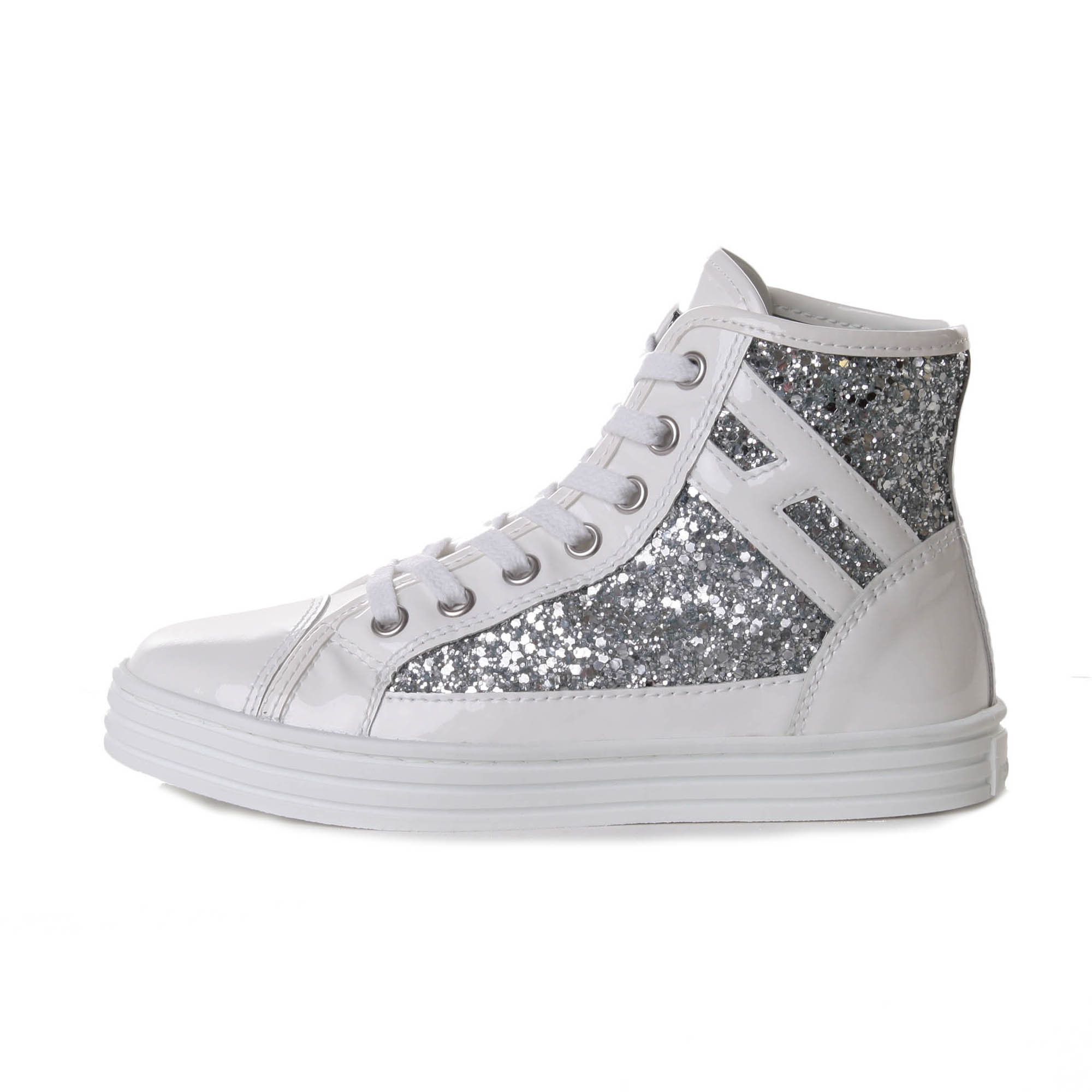 Alta qualit Sneakers Hogan Rebel Glitter vendita