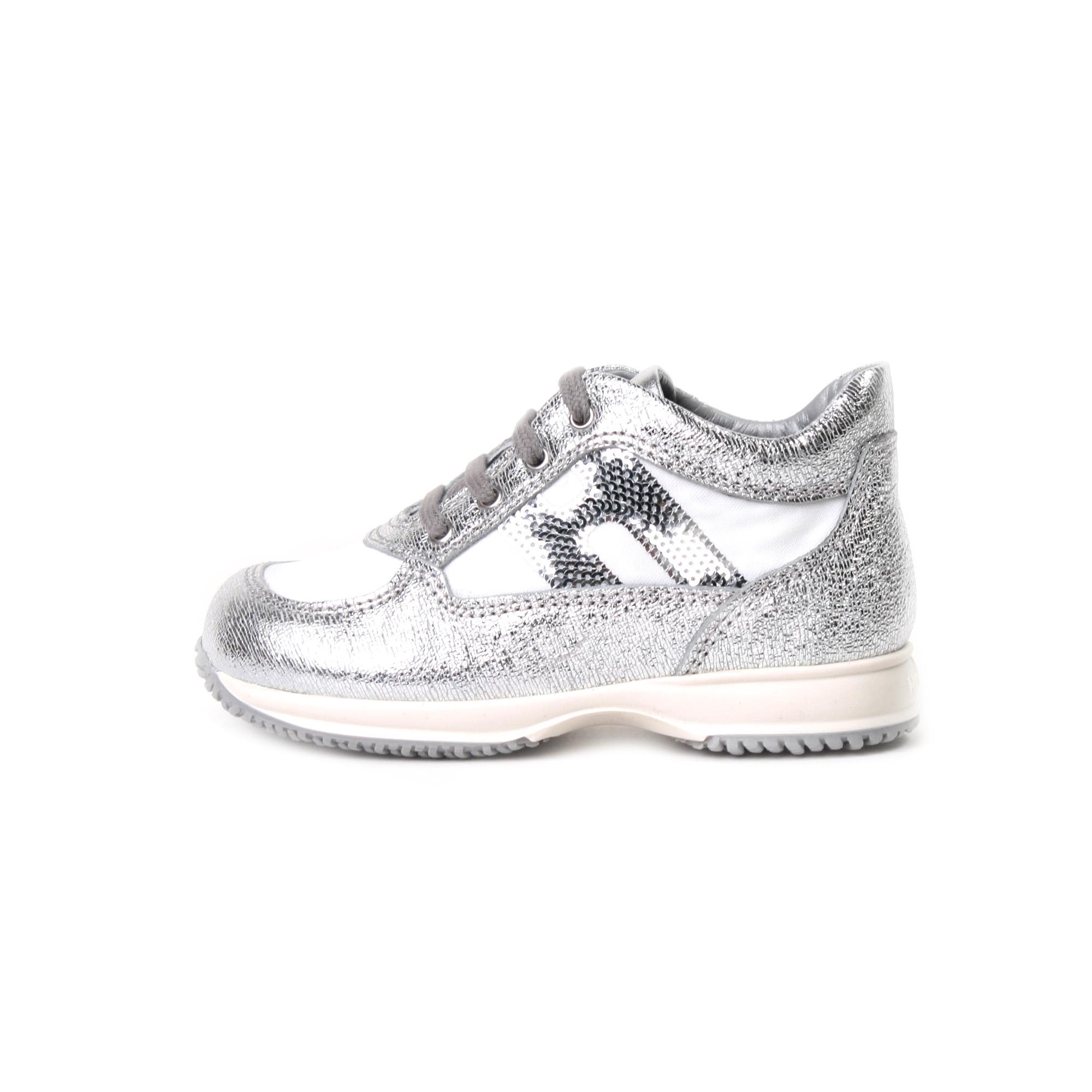 hogan interactive bianche argento