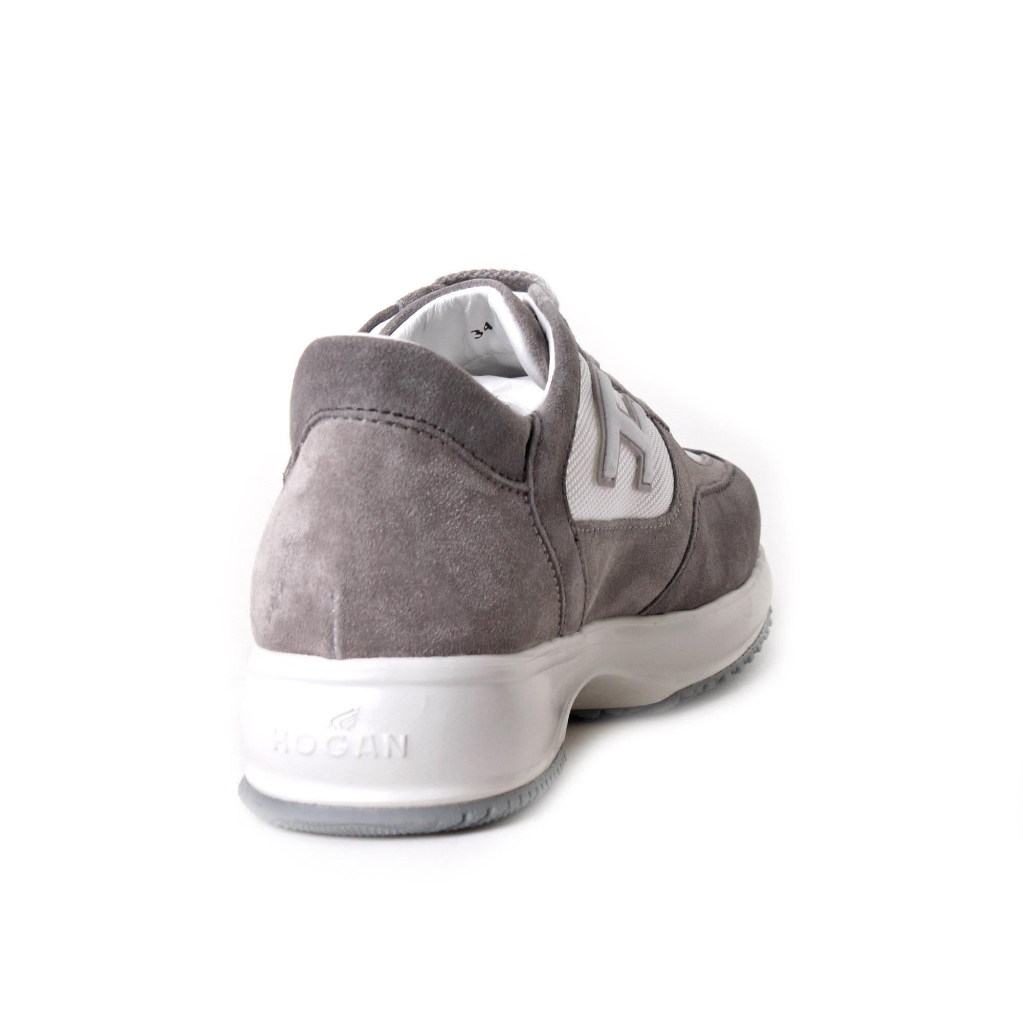Sneaker Bambino Interactive Tortora E Bianco