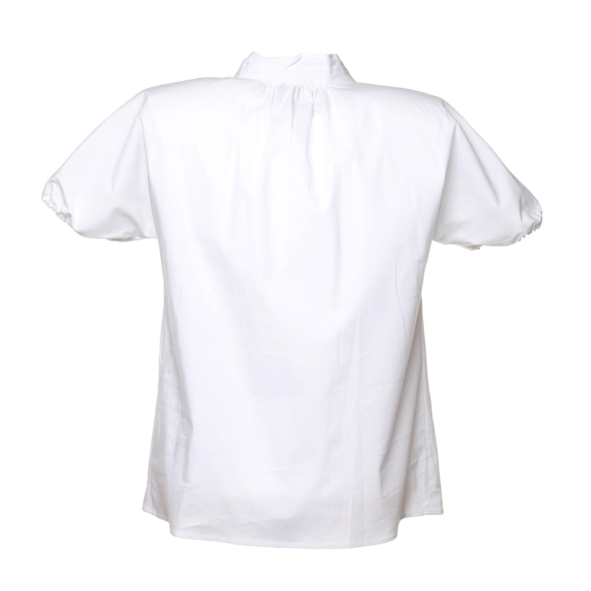 brand new feb79 d92f8 Camicia Bianca Con Fiocco Al Collo