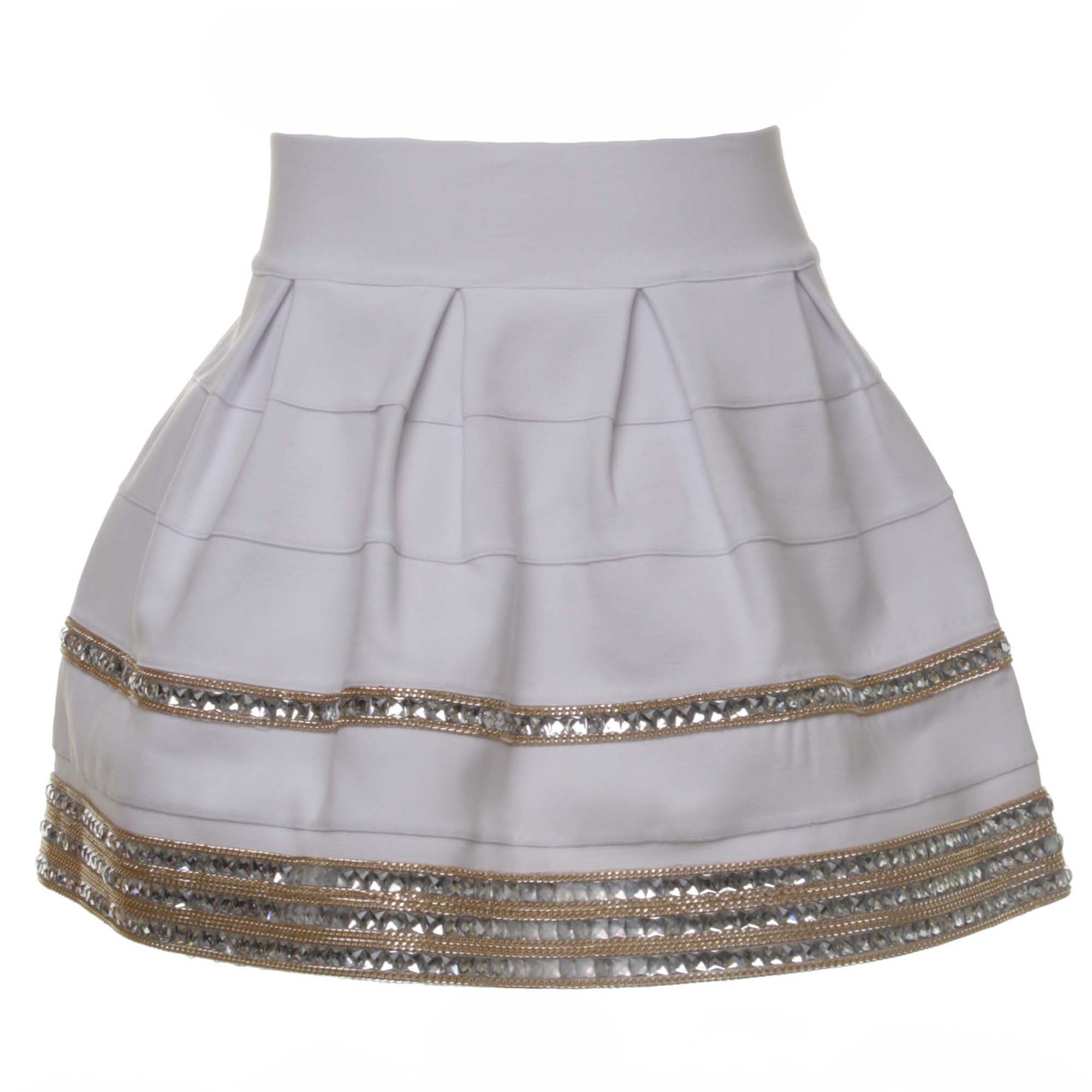 watch 1110d 4b796 White Ballon Skirt For Girls
