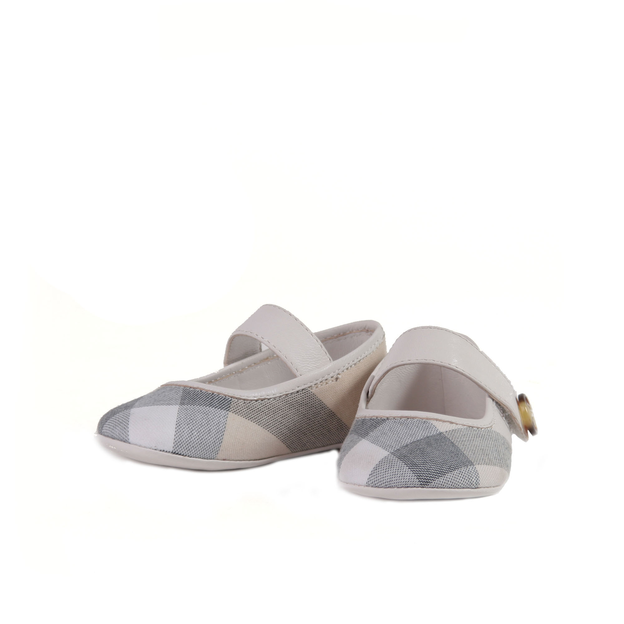 Con Jane Burberry Scarpa Baby Mary Check Motivo Ptw7IwAqr