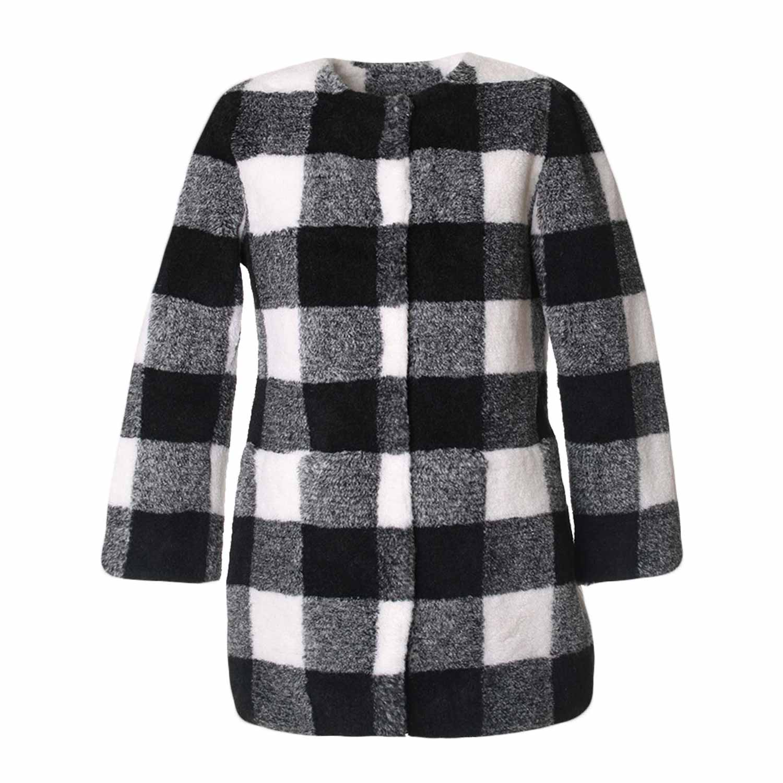 Online Pinko Bambina Shop Cappotto A Quadri wqxRF1