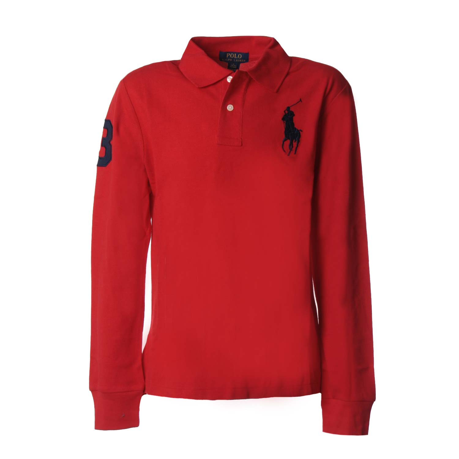Long Sleevs Polo Slim Fit Toddler Red rCxBode