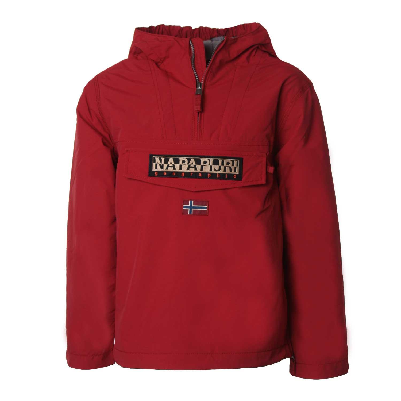 buy popular 857d1 866e7 Giacca Rossa Rainforest Junior