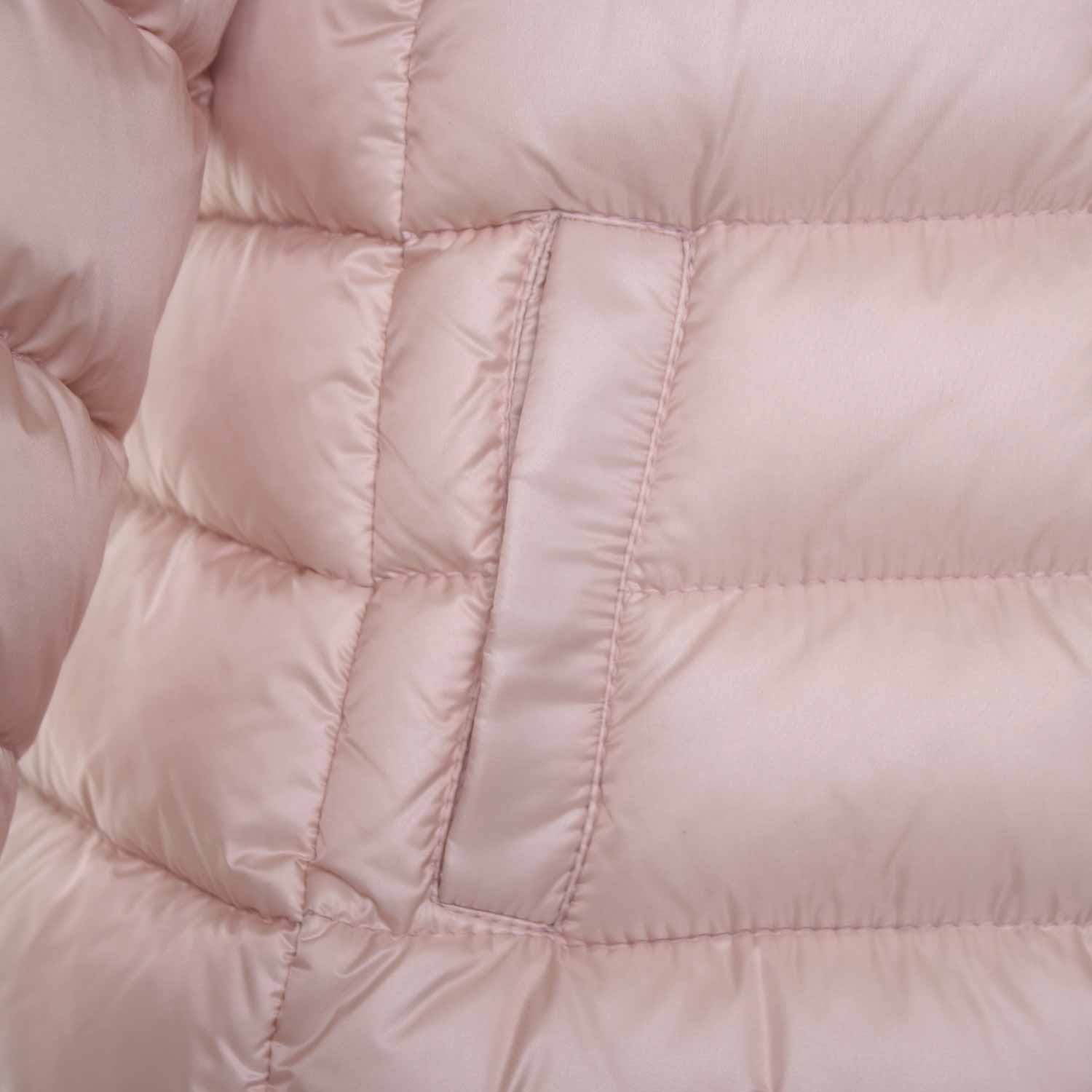 moncler baby rosa