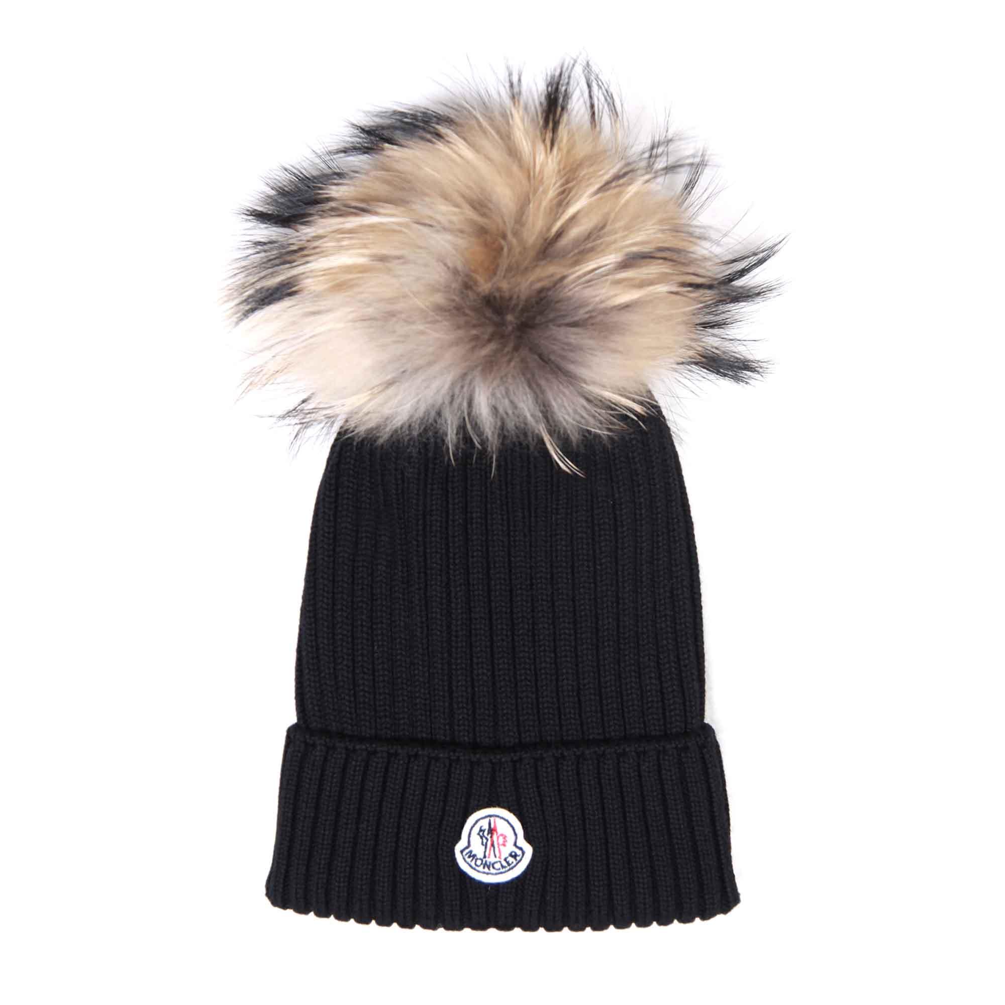 cappello moncler nero