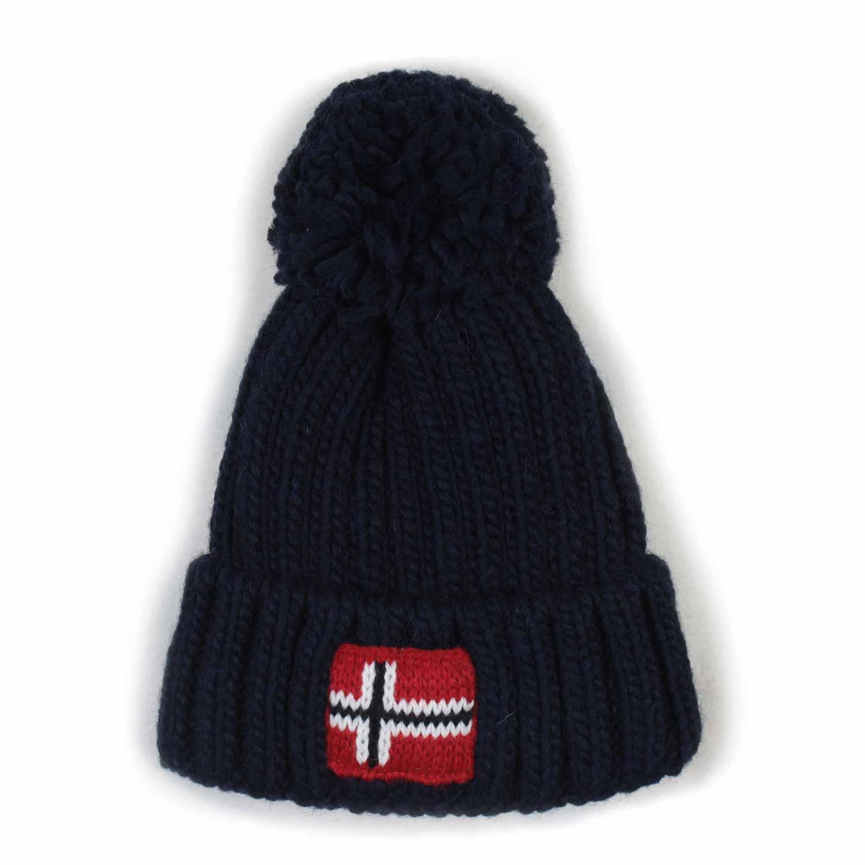 Napapijri - Cappello Blu Junior-Teen - annameglio.com shop online a54819c43024