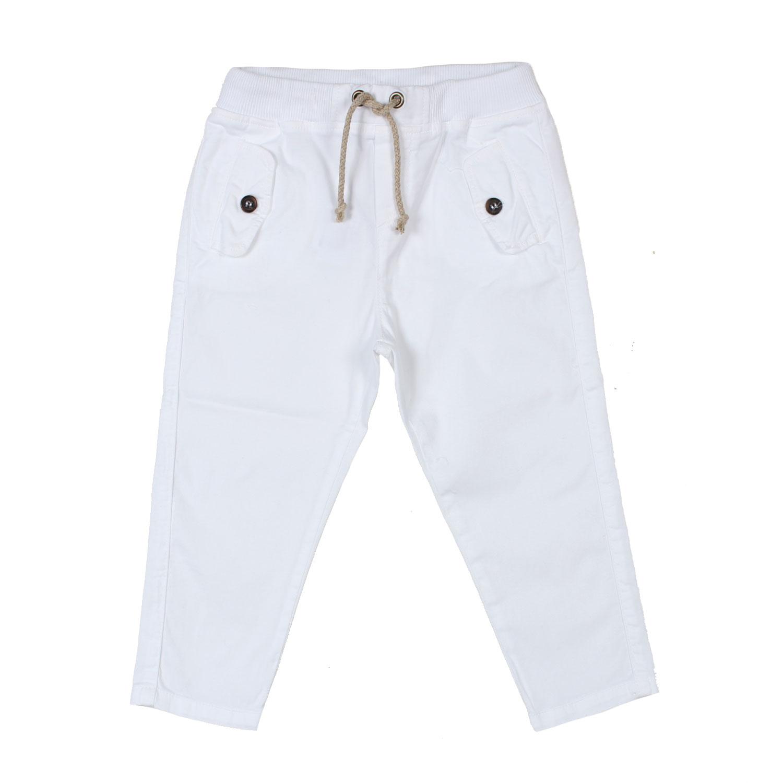 miglior servizio f6687 a9ef6 Pantalone Bianco Bambino