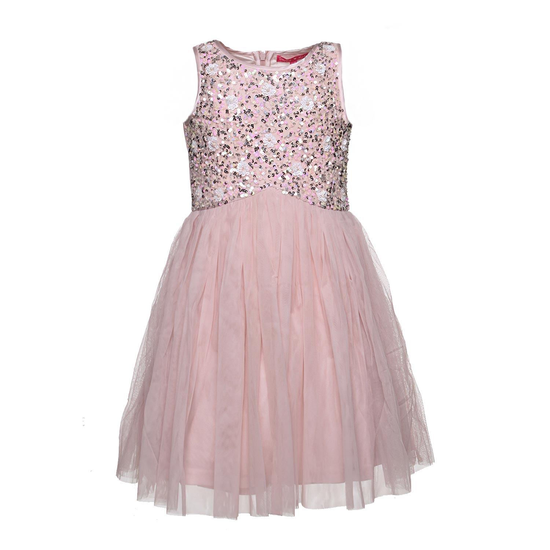 derhy abito rosa bambina paillettes shop online. Black Bedroom Furniture Sets. Home Design Ideas