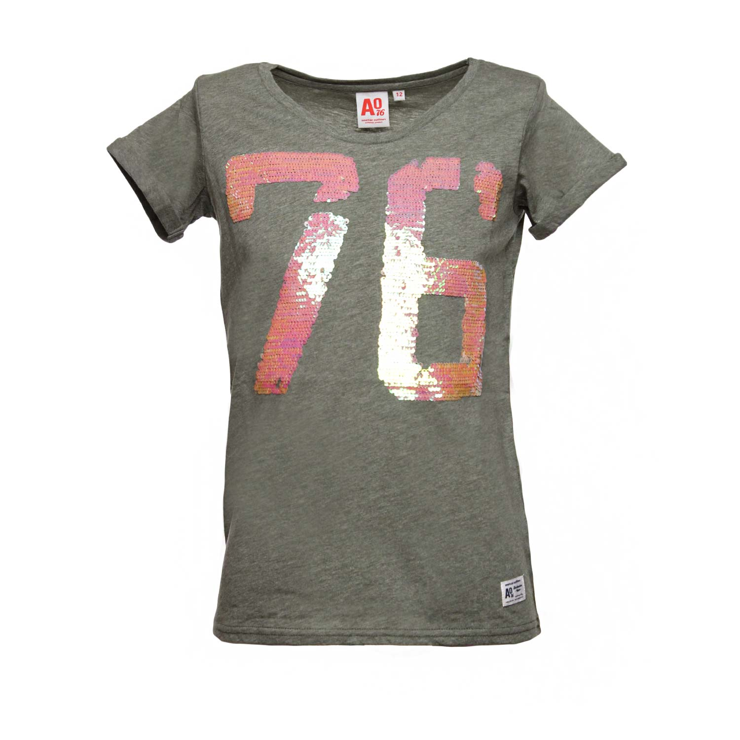 American Outfitters - T-Shirt Oliva 76 - annameglio.com shop online