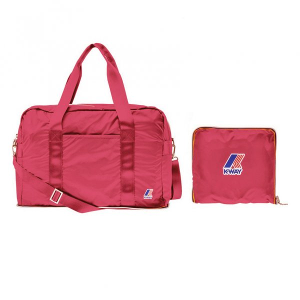 K-Way - BORSA DONNA ROSA SHOCKING