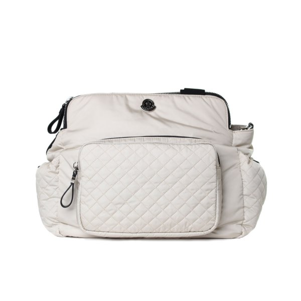 Moncler - BORSA MOMMY BAG BIANCA