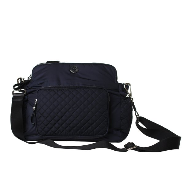 Moncler - BORSA MOMMY BAG BLU NAVY