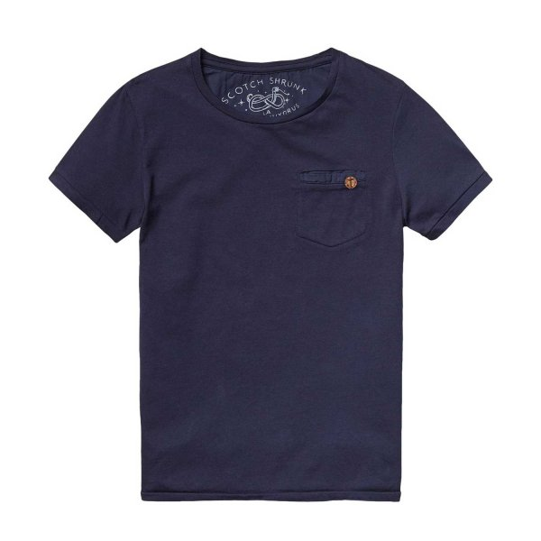 Scotch & Soda - T-Shirt Tinta in Capo Night
