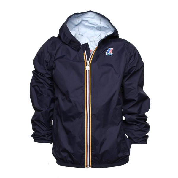 K-Way - GIACCA JACQUES PLUS JR DEEP BLU