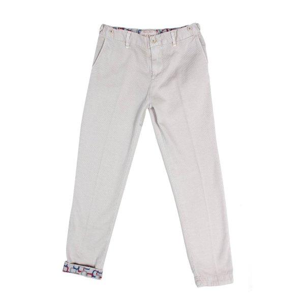 Myths - PANTALONE PIQUET BIANCO JR TEEN