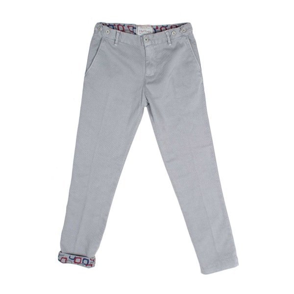 Myths - PANTALONE PIQUET GRIGIO JR TEEN
