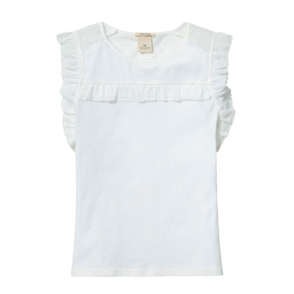 Scotch & Soda - T-shirt con volant