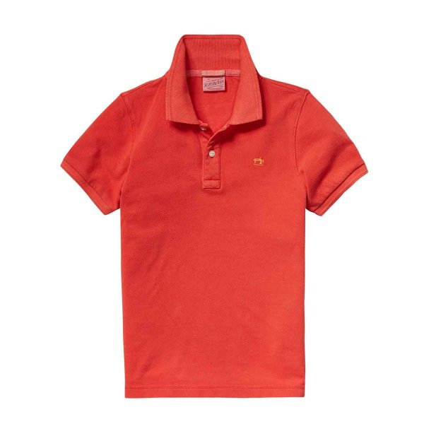 Scotch & Soda - Polo Piqué Ketchup