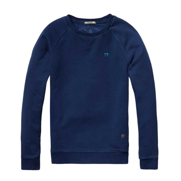 Scotch & Soda - Felpa Basic Blu Notte