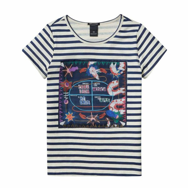 Scotch & Soda - T-shirt Girl atlas on the heavens