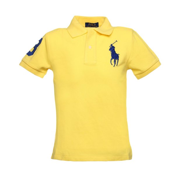 Ralph Lauren - Polo Big Pony Gialla Toddler