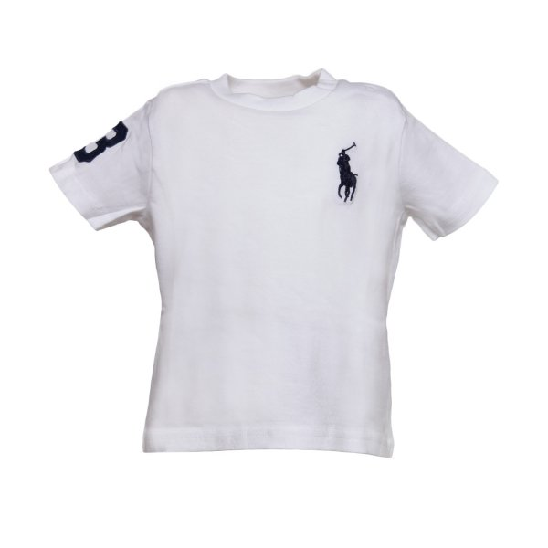 Ralph Lauren - T-SHIRT BIANCA RL TODDLER