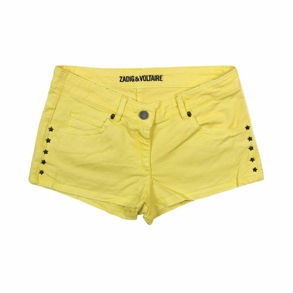 Zadig&voltaire - SHORTS GIRL GIALLO