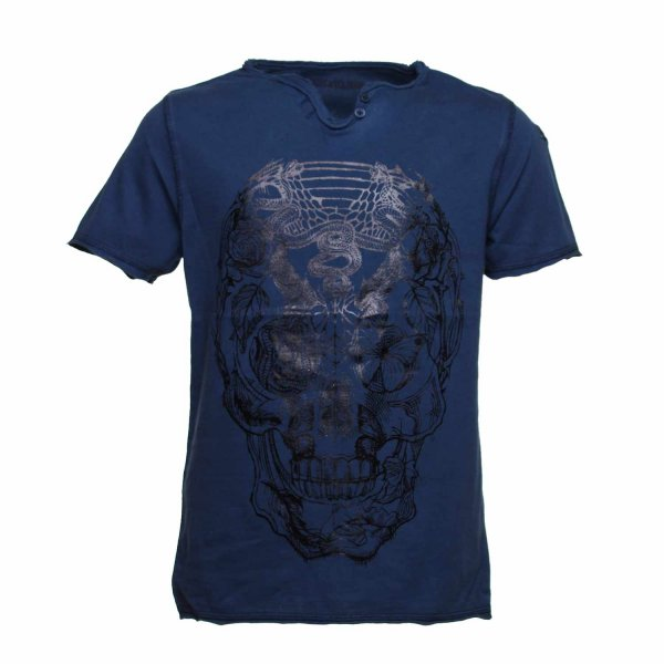 Zadig&voltaire - T-SHIRT JUNIOR BLU