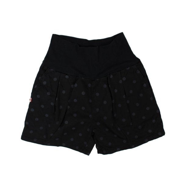 Manila Grace - SHORTS GIRL NERI A POIS