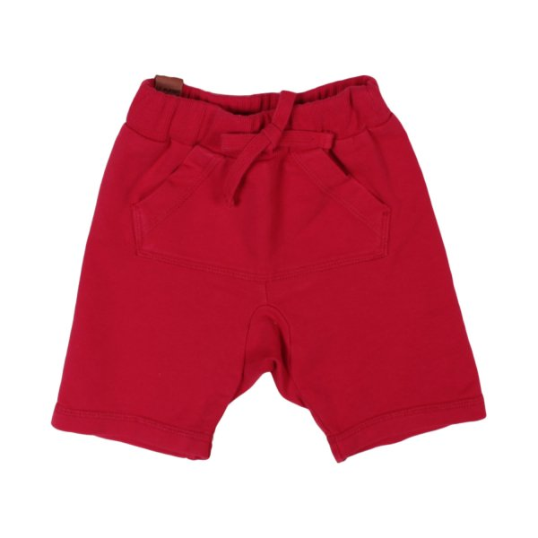 Officina51 - BERMUDA BABY JERSEY ROSSO