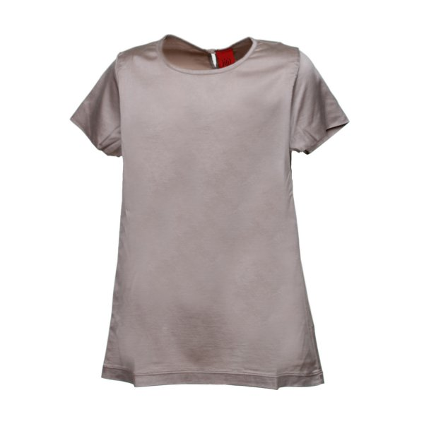 Jijil - T-SHIRT GIRL COLOR SABBIA