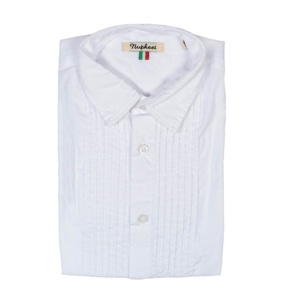 Nupkeet - CAMICIA CRUZ BIANCA JUNIOR