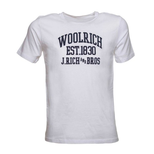 Woolrich - T-SHIRT BIANCA JR TEEN