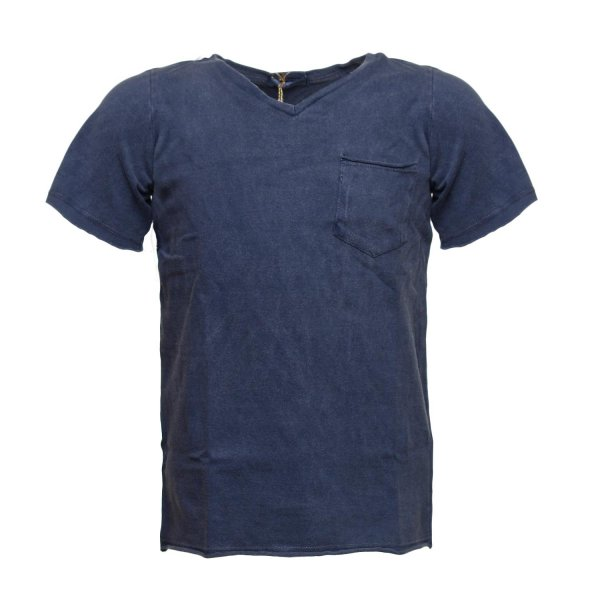 Sticky Fudge - T-SHIRT OWEN BLU BAMBINO
