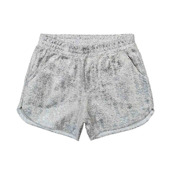 Dreamers - SHORTS GIRL IN JERSEY ARGENTO