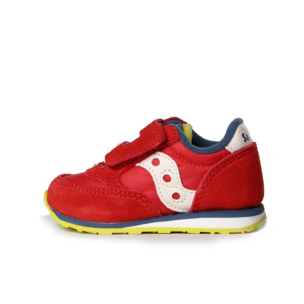 Saucony - SNEAKER BABY JAZZ HL Rosso Lime