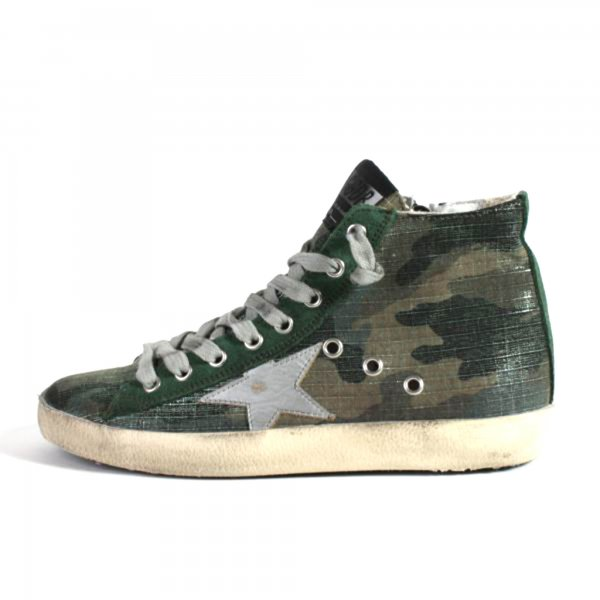 Golden Goose - SNEAKERS FRANCY CAMOUFLAGE TEEN