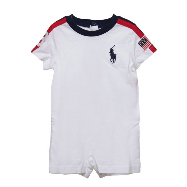 Ralph Lauren - Tutina Infant Bianca