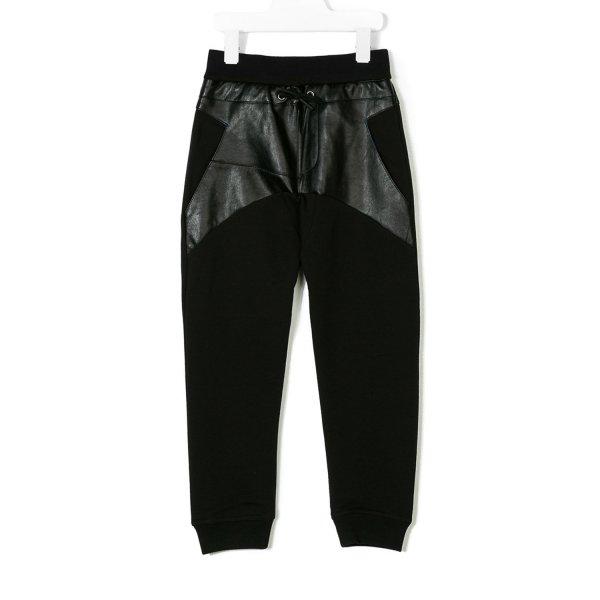 Armani Junior - PANTALONE TUTA GIRL NERO