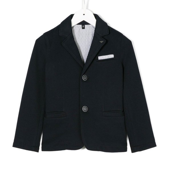Armani Junior - BLAZER BLU NAVY JR TEEN