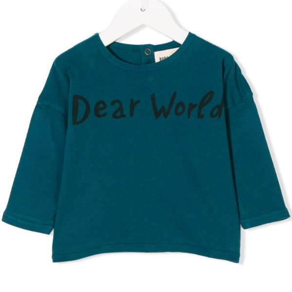 Bobo Choses - T-SHIRT BLU BIMBA BIMBO