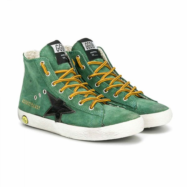 Golden Goose - FRANCY SNEAKER VERDE JR
