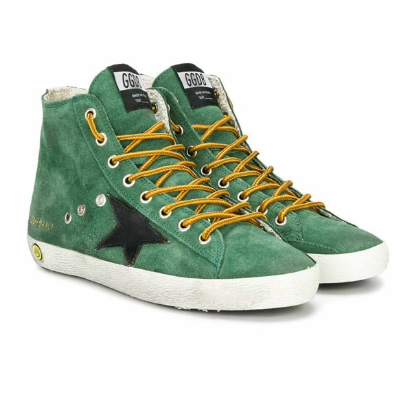 Golden Goose - FRANCY SNEAKER VERDE TEEN