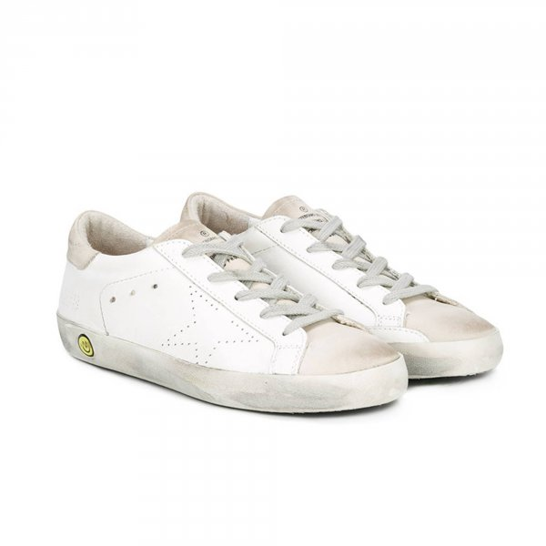 Golden Goose - SNEAKER SUPERSTAR JR BIANCA UNISEX