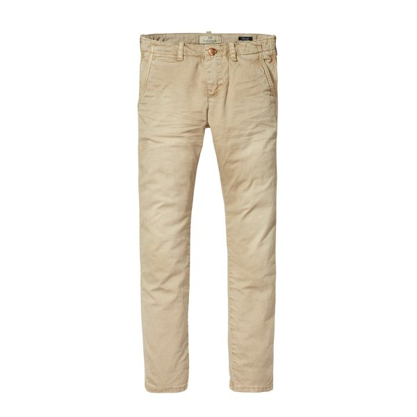 Scotch & Soda - PANTALONE CHINO SABBIA
