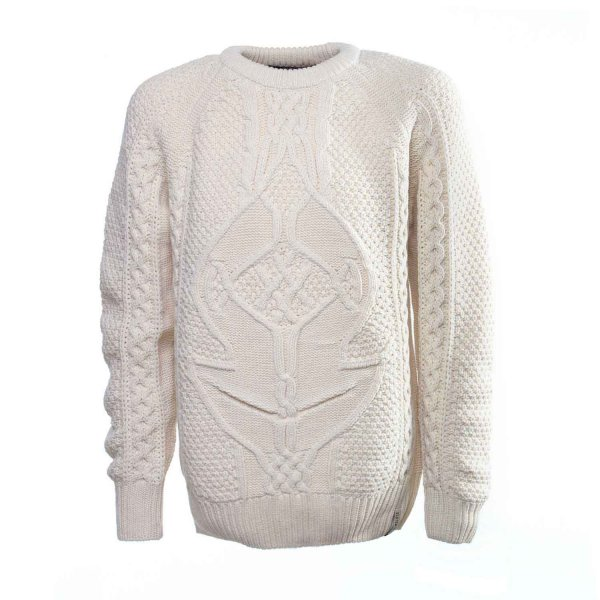 Scotch & Soda - PULLOVER BOY BIANCO